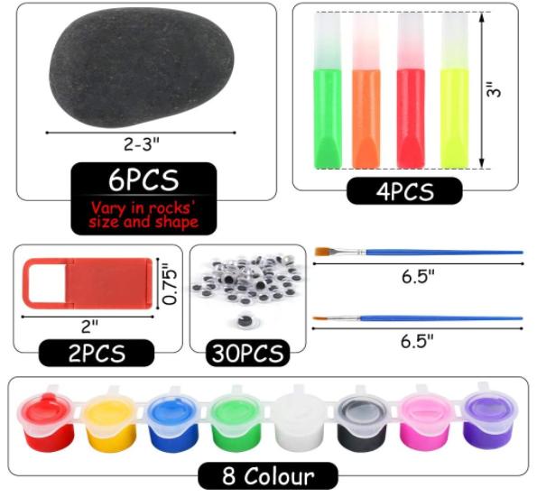 BigOtters Rock Painting Kit
