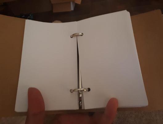 Blank Cards Binder