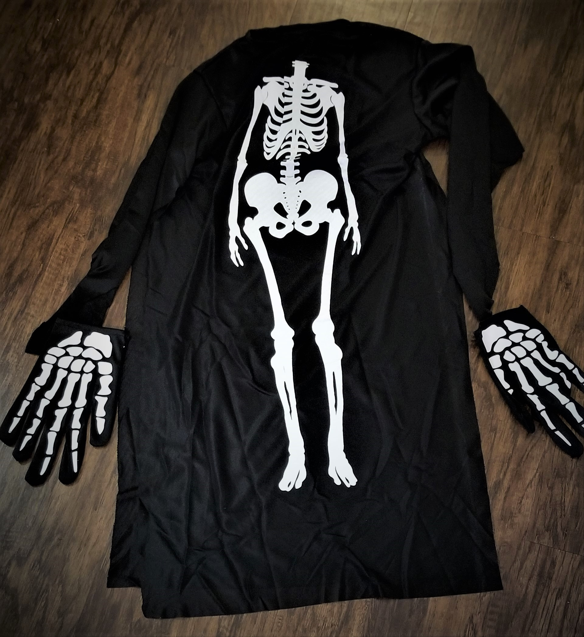 Cute Skeleton Costume