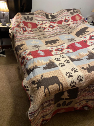 Lodge Bedding Set Full