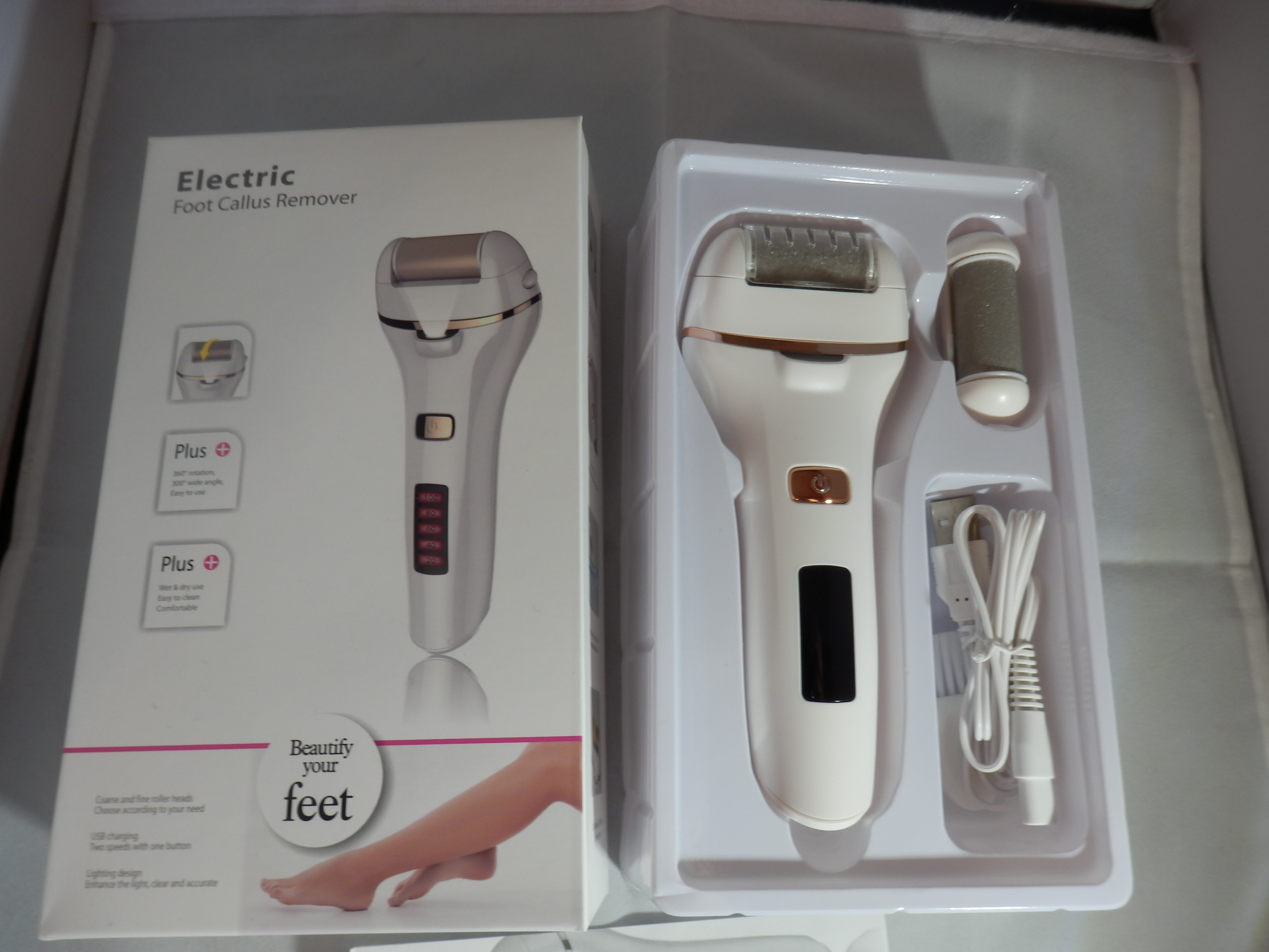 Bemece Electric Rechargeable Foot File