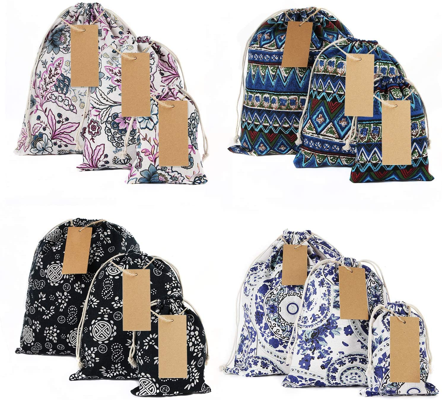 Great bags for EVERYTHING, I use these daily. I love love love them!