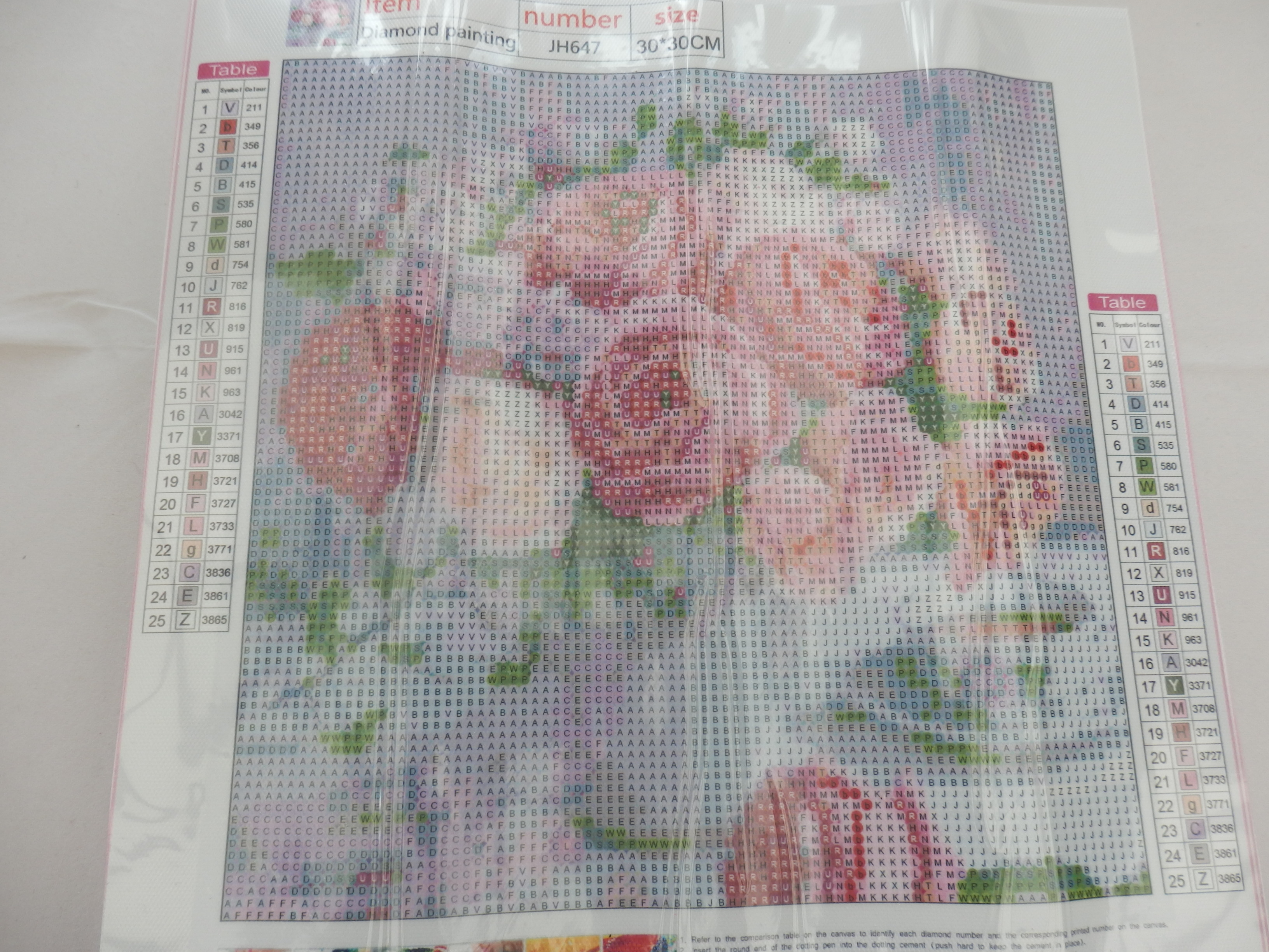 Two-Pack Roses 5D Diamond Painting Kits by DoGeek