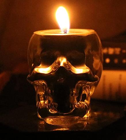 Skull Candle Decor