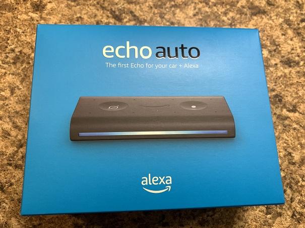 Amazon Alexa Automobile Echo device