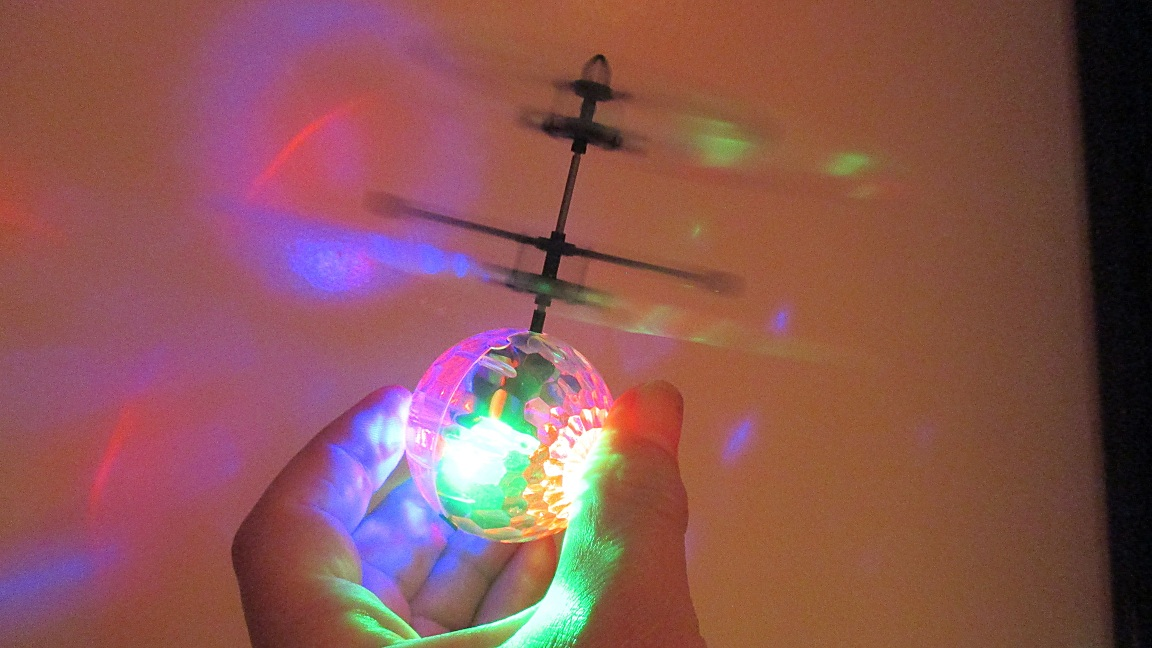 Flying Ball Toy That Really Takes Off