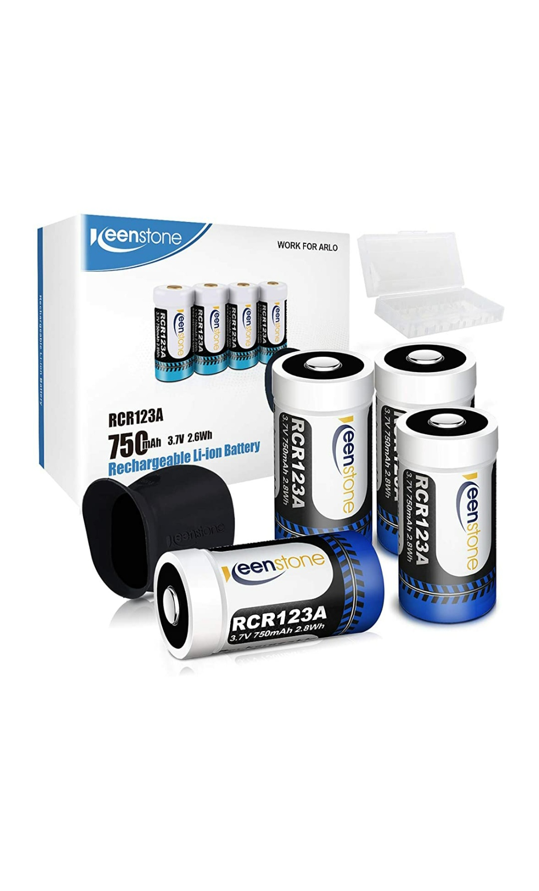 Premium batteries and a great top up set