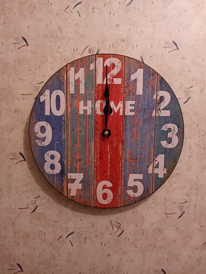 Rustic looking clock
