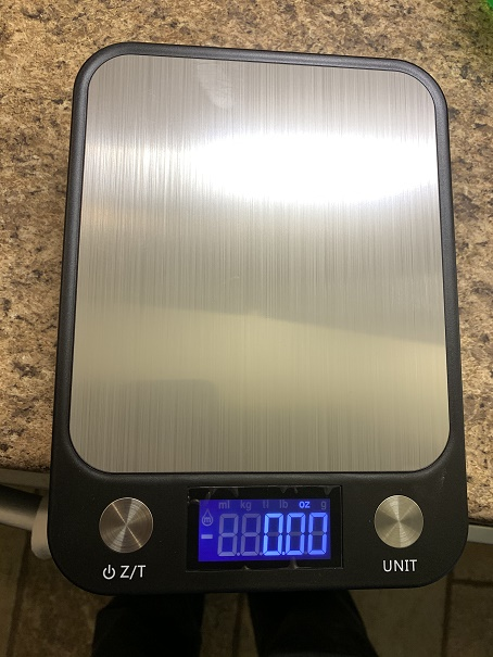 Digital Kitchen Scale for Cooking, Weight Loss and Nutrition