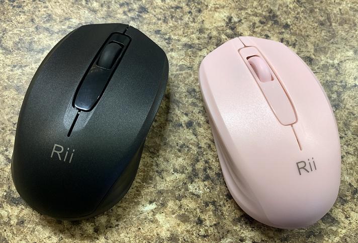 A Pair of Wireless Mice