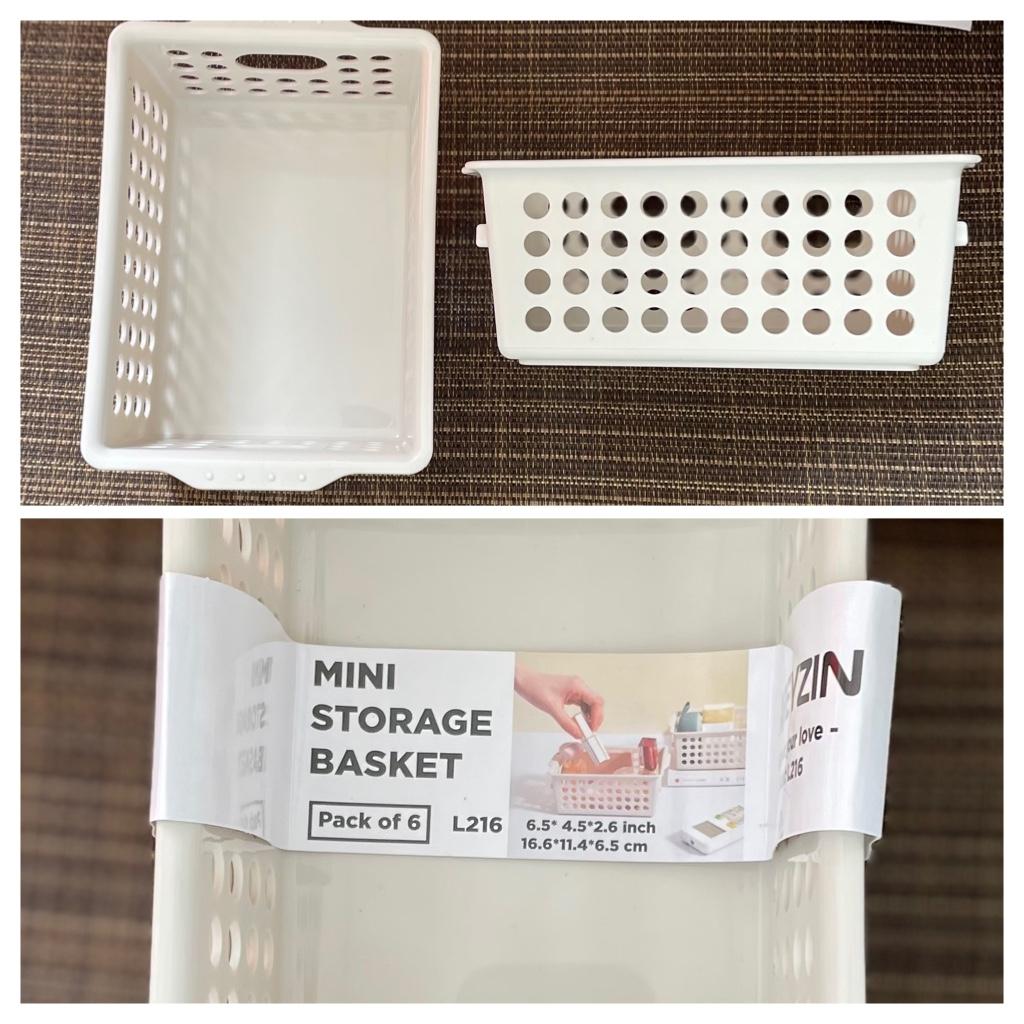 Very Nice Mini Storage Baskets