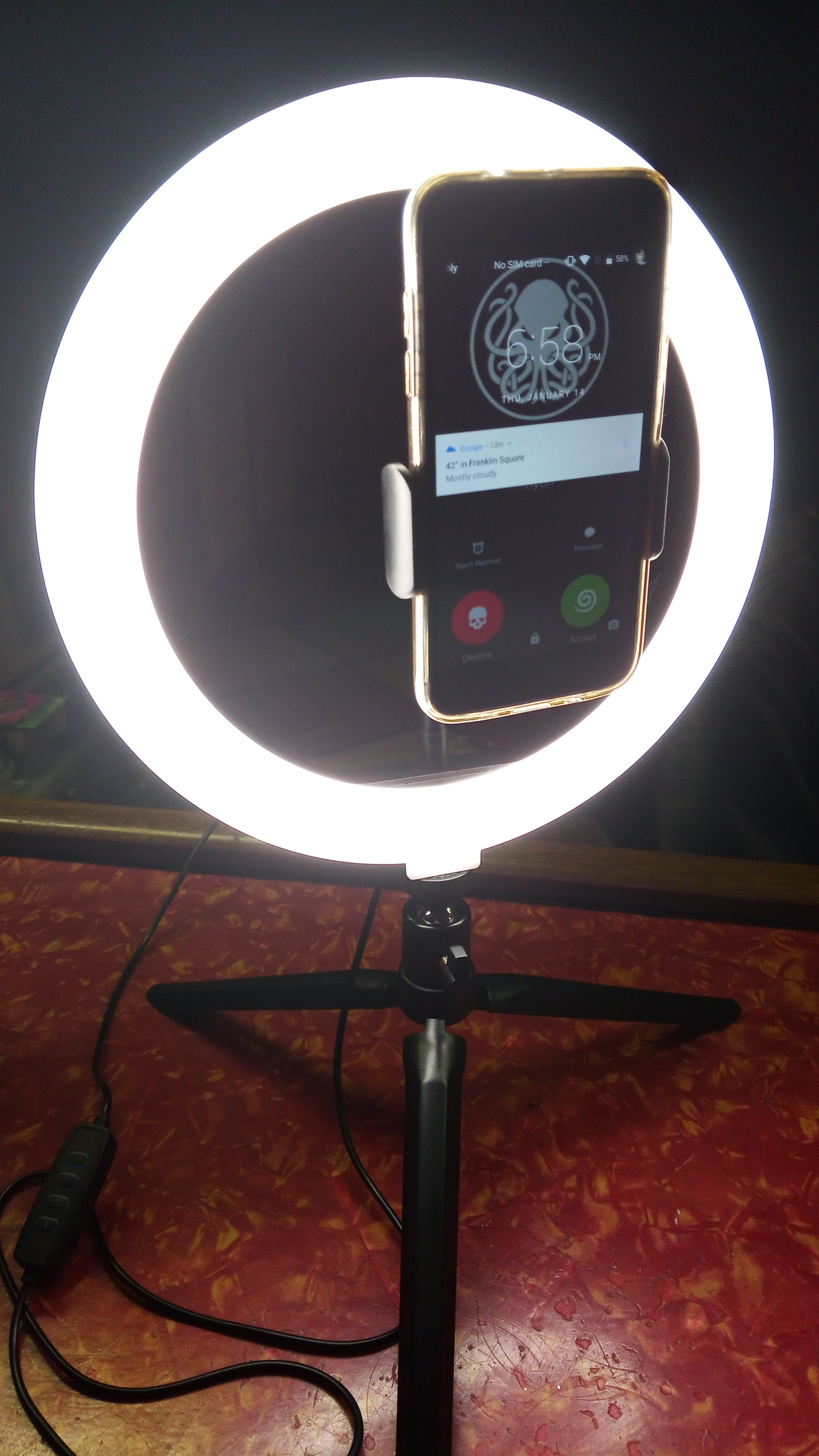 Amazing ring light!