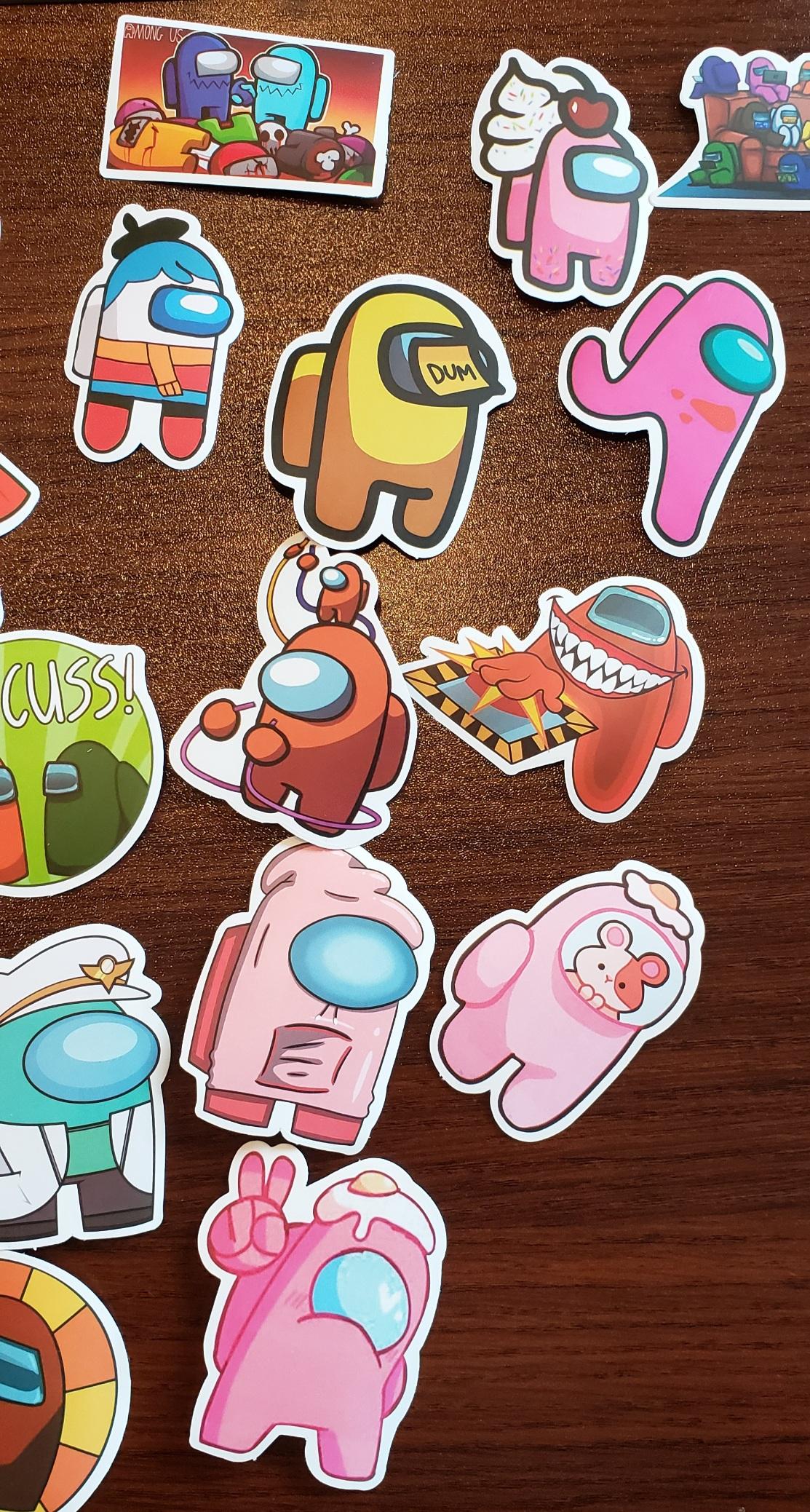 Among Us Stickers