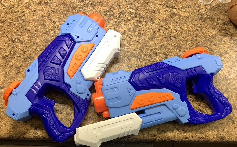Great pump water guns for Summer fun