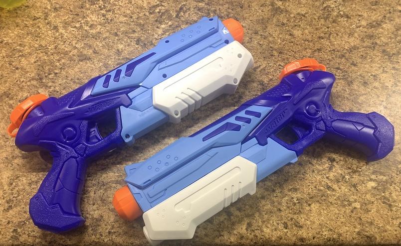 Fun squirt guns for the kids
