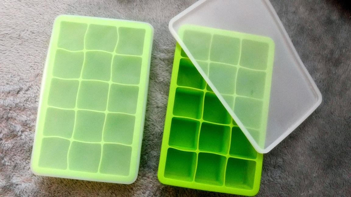 Beedee Silicone Ice Cube Tray Twinpack