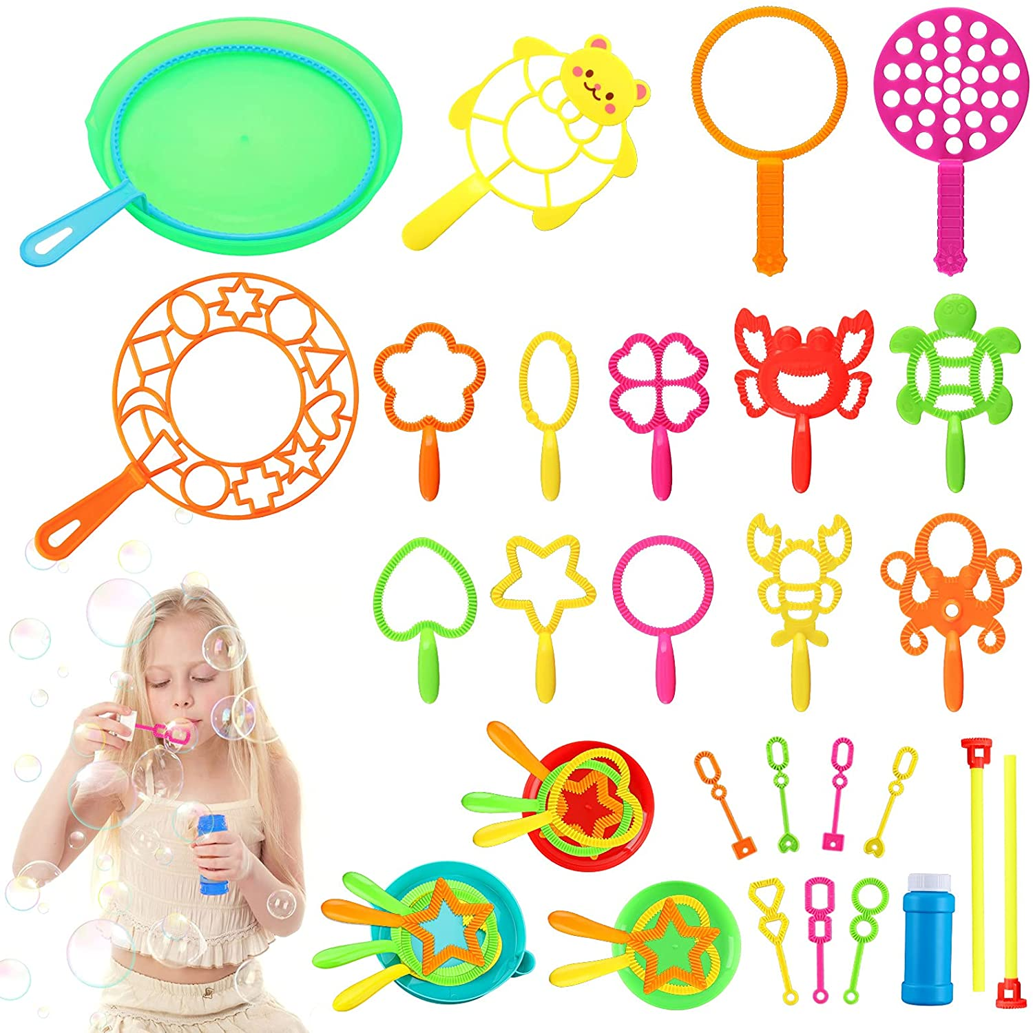 Awesome Bubble Wand Set ~ Kid Approved