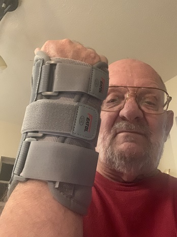 Wrist Support that eases my wrist pain