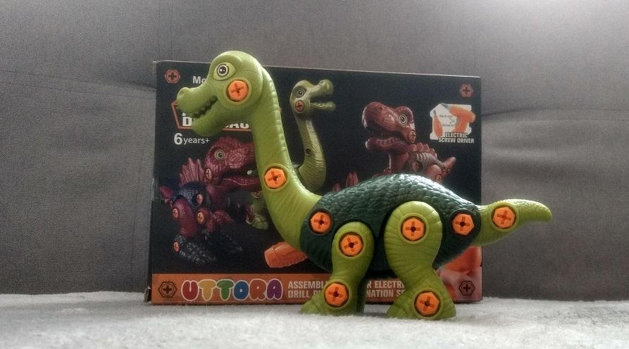 Great Educational Dinosaur Construction Toy