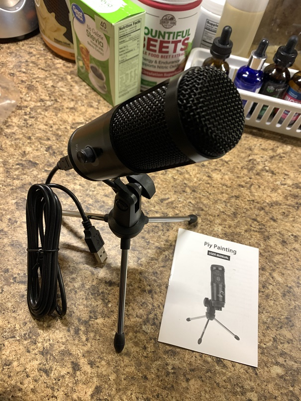 High quality USB microphone for computer