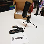 Piy Painting Cardioid Recording Microphone, 192kHz/24bit