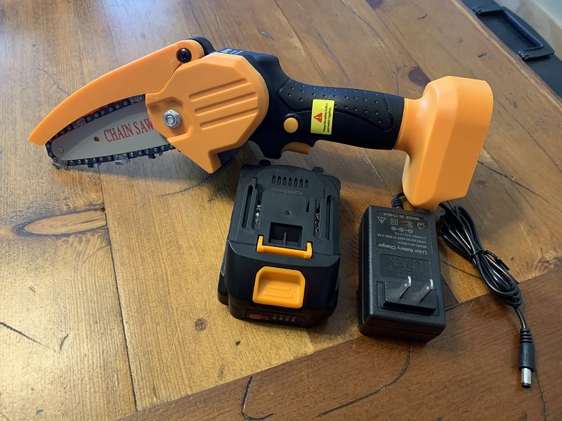 Amazingly Easy To Use Branch Trimming Chain Saw