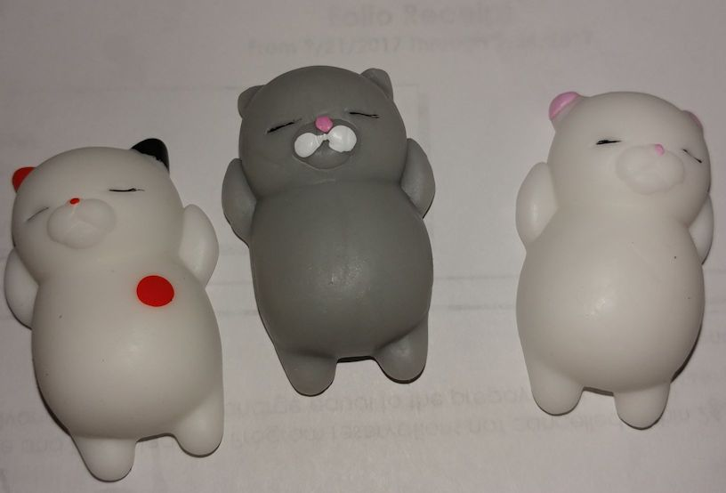 Cutest little stress relievers I have seen.