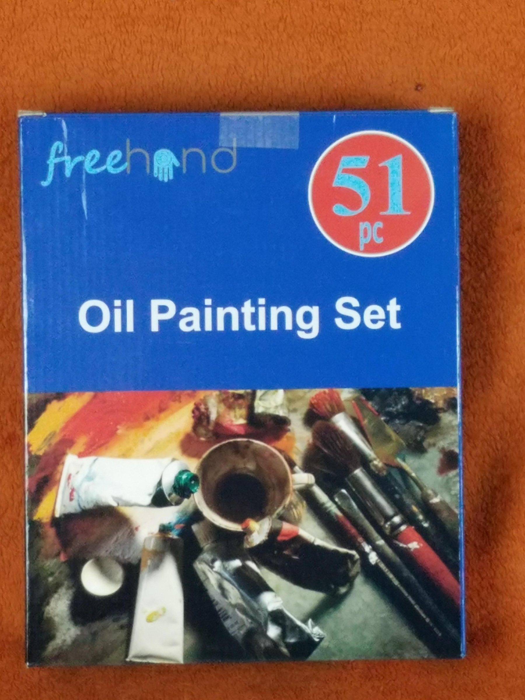 Ready to use straight out of the box!  Helps bring out your inner artist, great for adults & kids alike, very high quality, professional painting tools and premium paints!