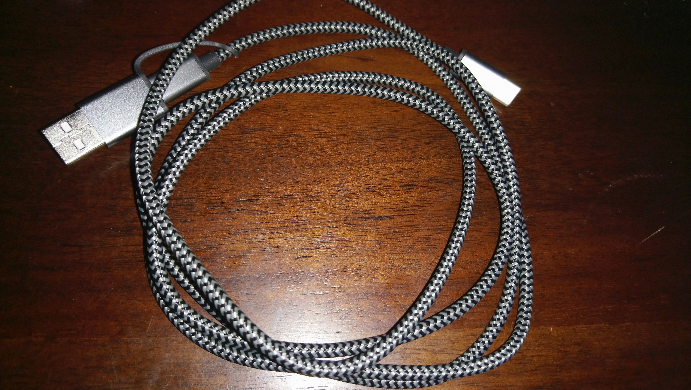 Type C Fast Charge Braided Cable