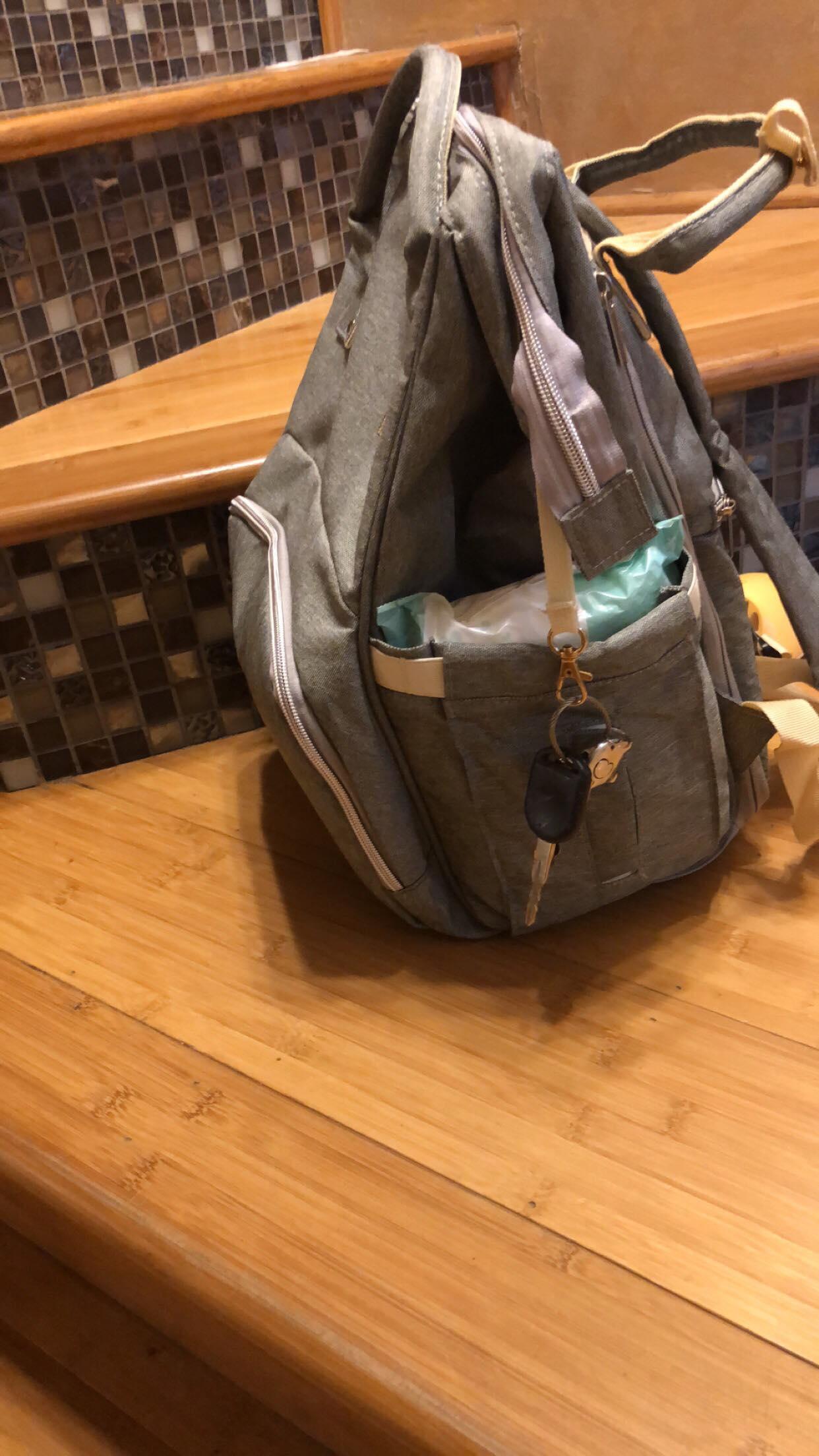 Lonenessl Backpack Diaper Bag