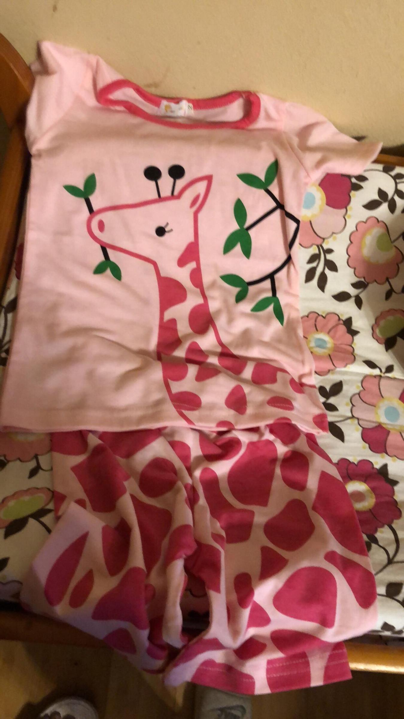 Giraffe Pajama Set