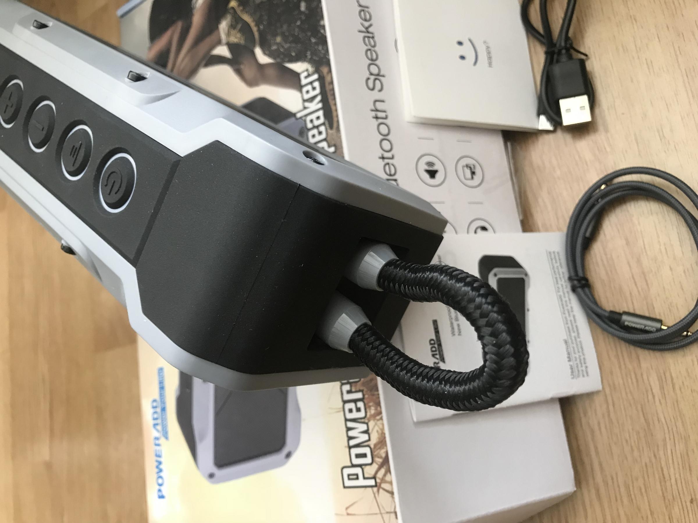 Buen altavoz Bluetooth especial para su uso en exterior