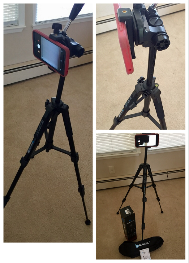 Wow! Amazing Tripod, Works Great With Cell Phone
