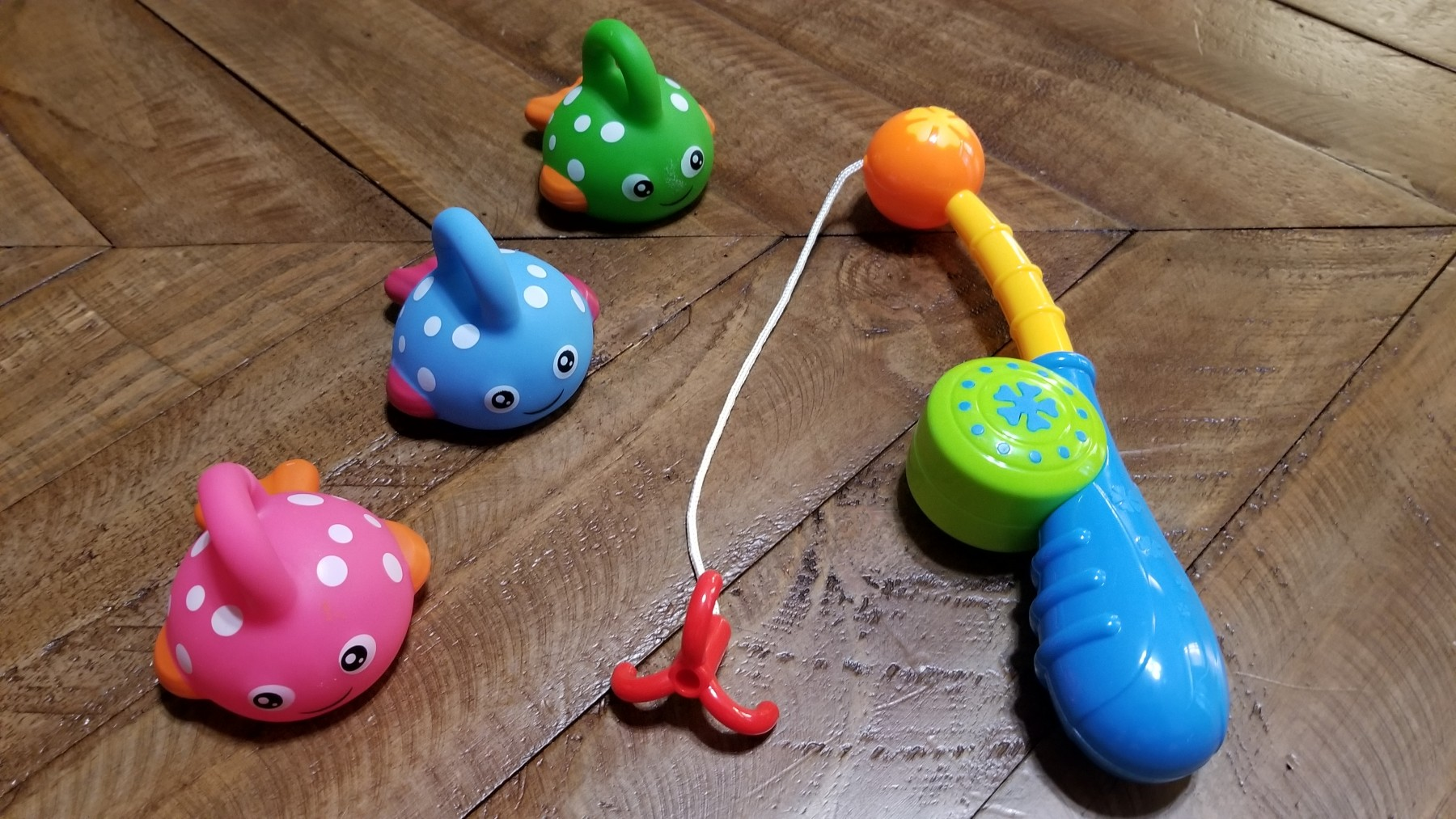 Review for Bath Toy Fishing Game with Cute Spotted Fish and Fishing ...