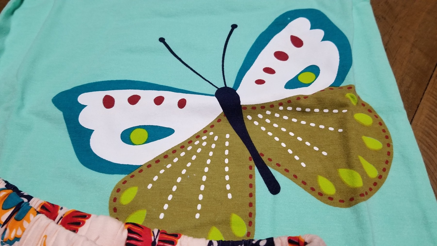 Cute butterfly jammies