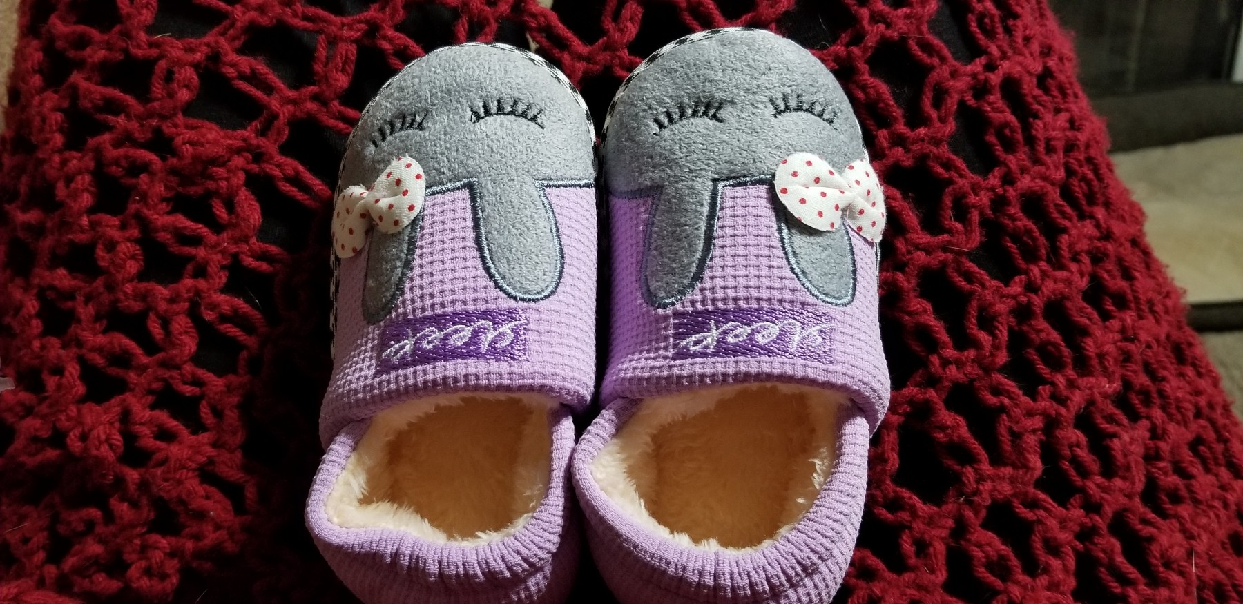 Adorable slippers!