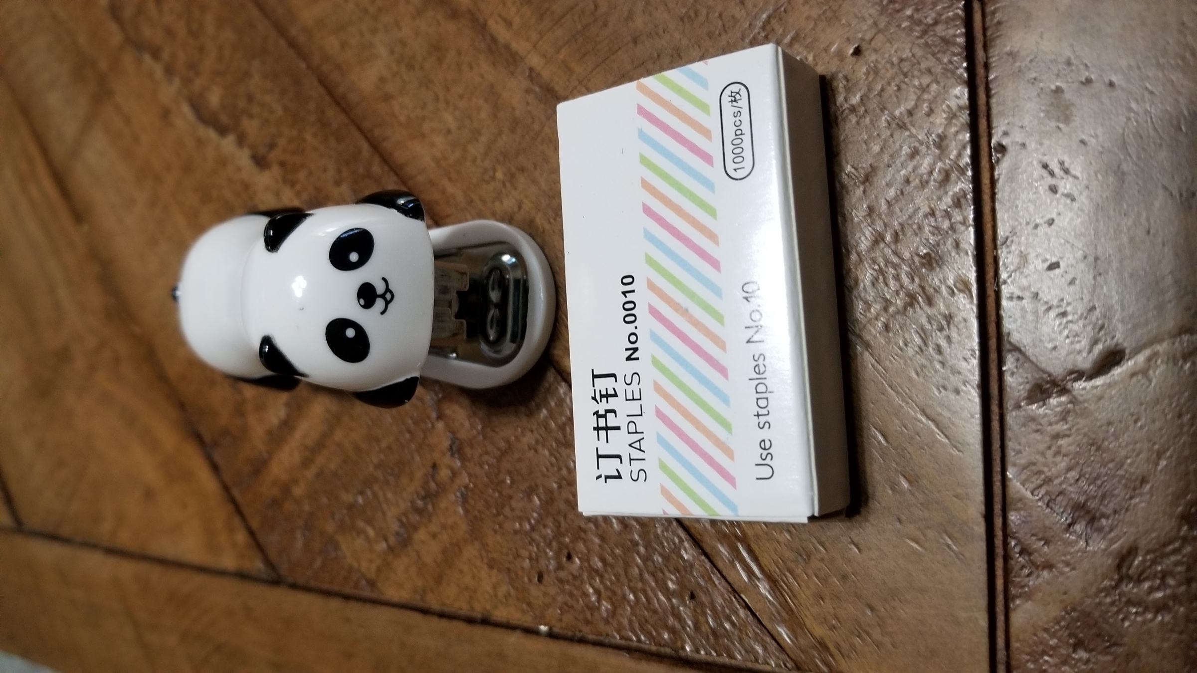 Adorable mini-stapler