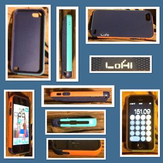 iPhone 5s / 5 /SE Case, LoHi Apple iPhone 5S Case [Dual Protection] Anti-Scratch Shockproof Bumper Case - Blue