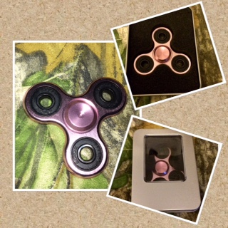 Quality Spinner Made Of Stainless Steel And It Has Ceramic Bearings, Is Well Balanced And It Spins For Four Plus Minutes