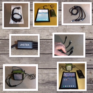 JASTEK Multi USB Charging Cable – 4 IN 1 Braided With Type C, Micro USB and 2 – 8 PinLightning
