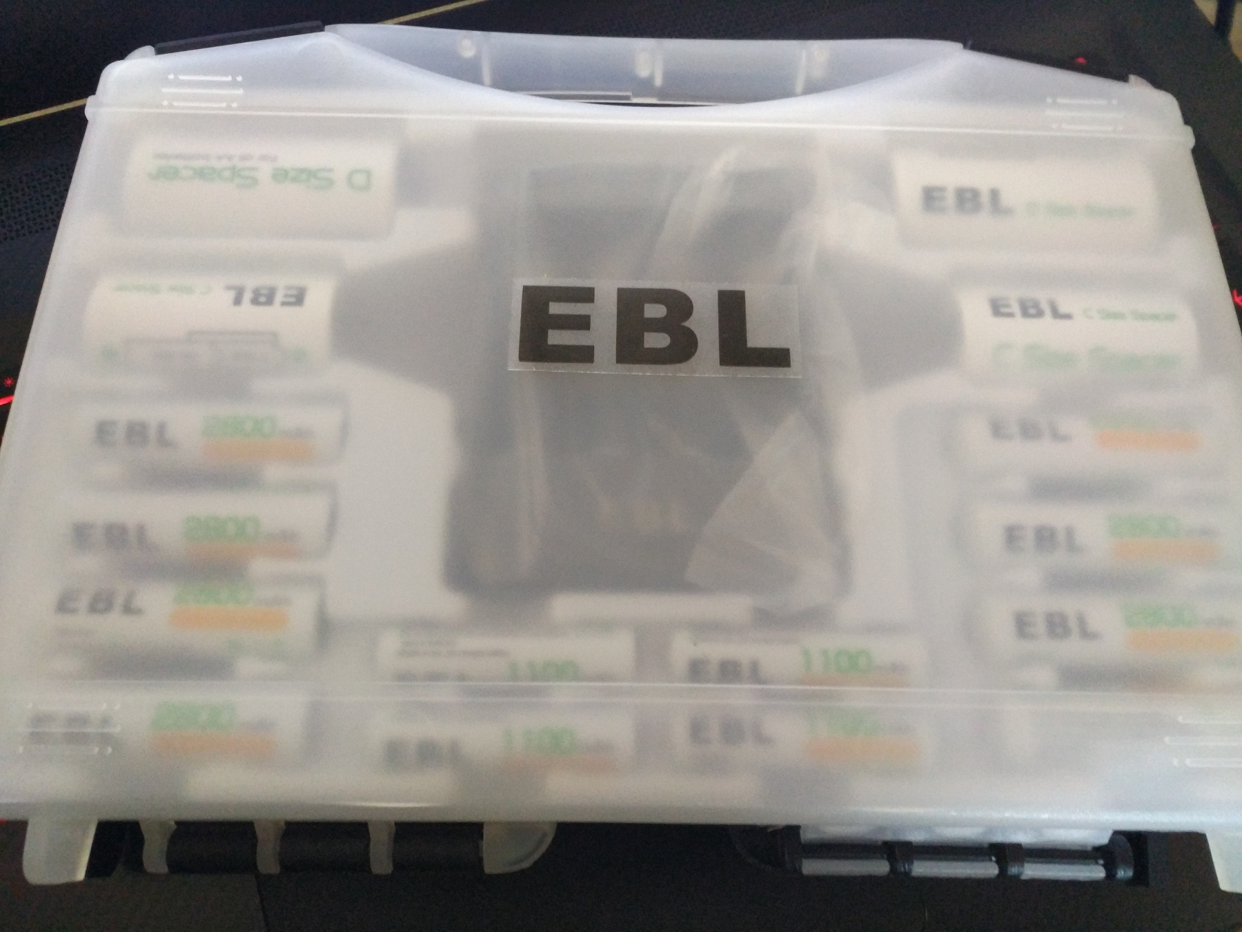 Pack chargeur + piles EBL