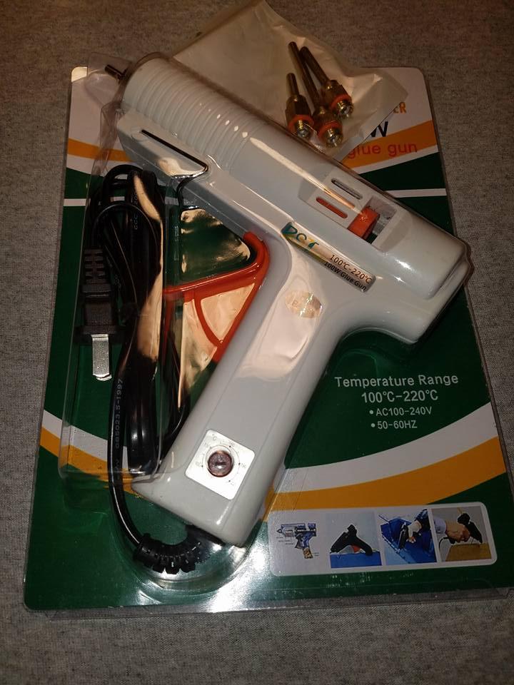 Awesome glue gun...