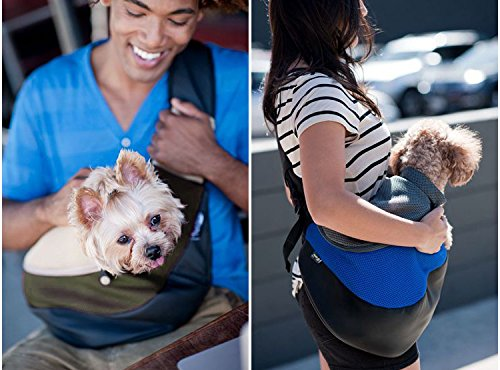 My #Sponsored #RankBoosterReview on my #BreaDeep Pet Carrier Sling,Breathable Mesh Travel Single Shoulder Bag for Small Dogs Cat