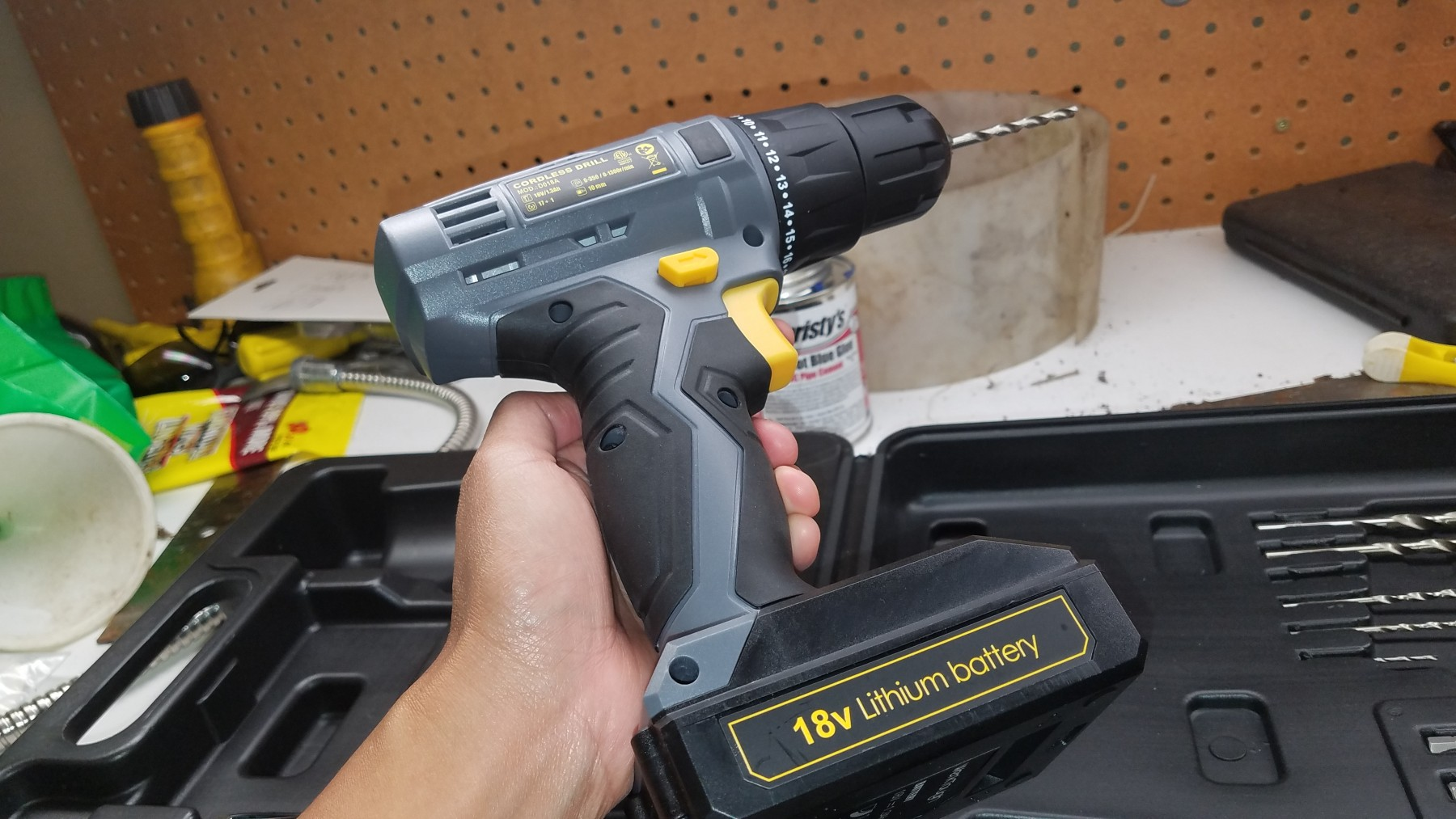 Affordable Cordless Drill