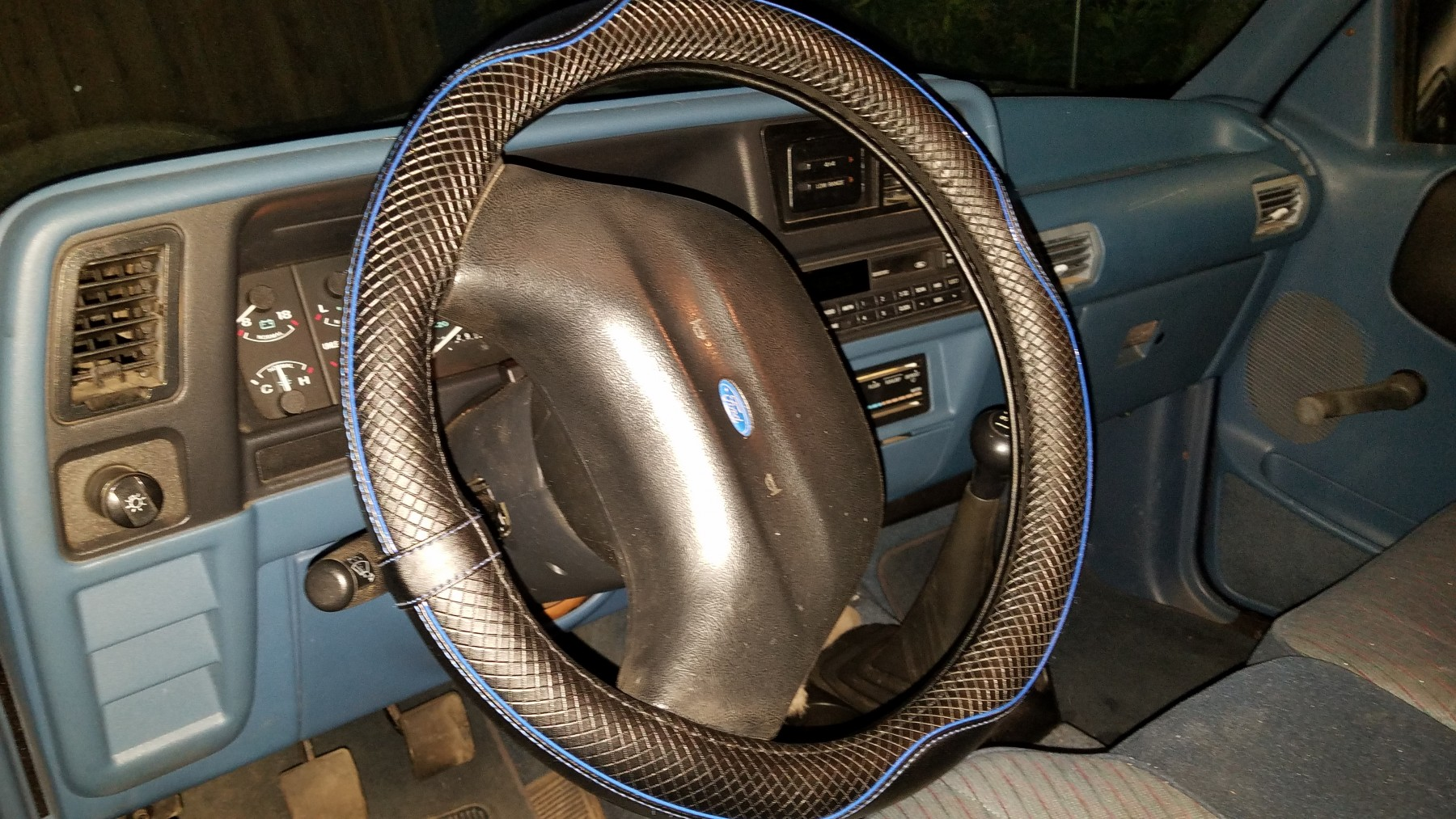 Good quality and neat steering wheel cover