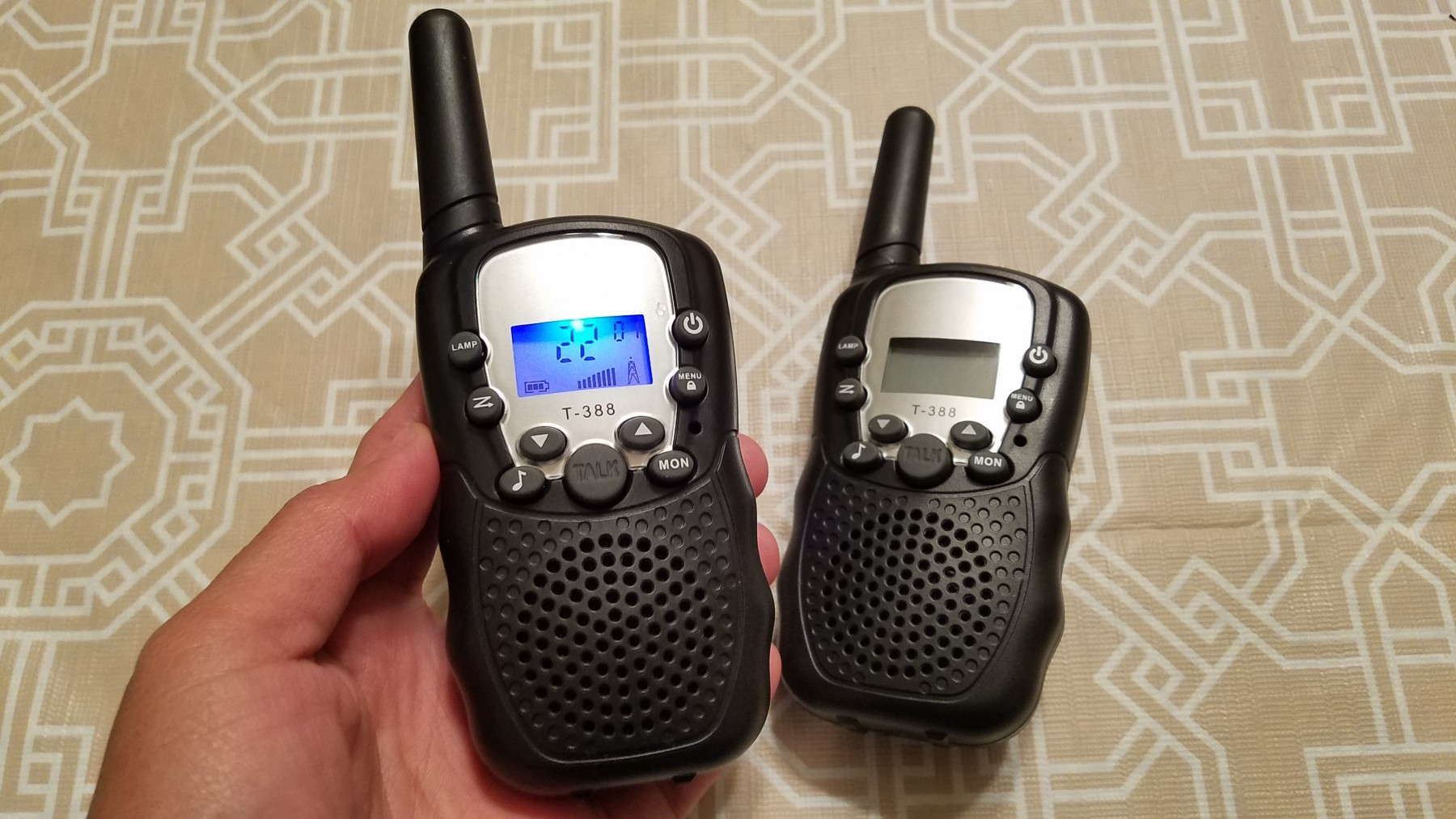 Affordable walkie talkies