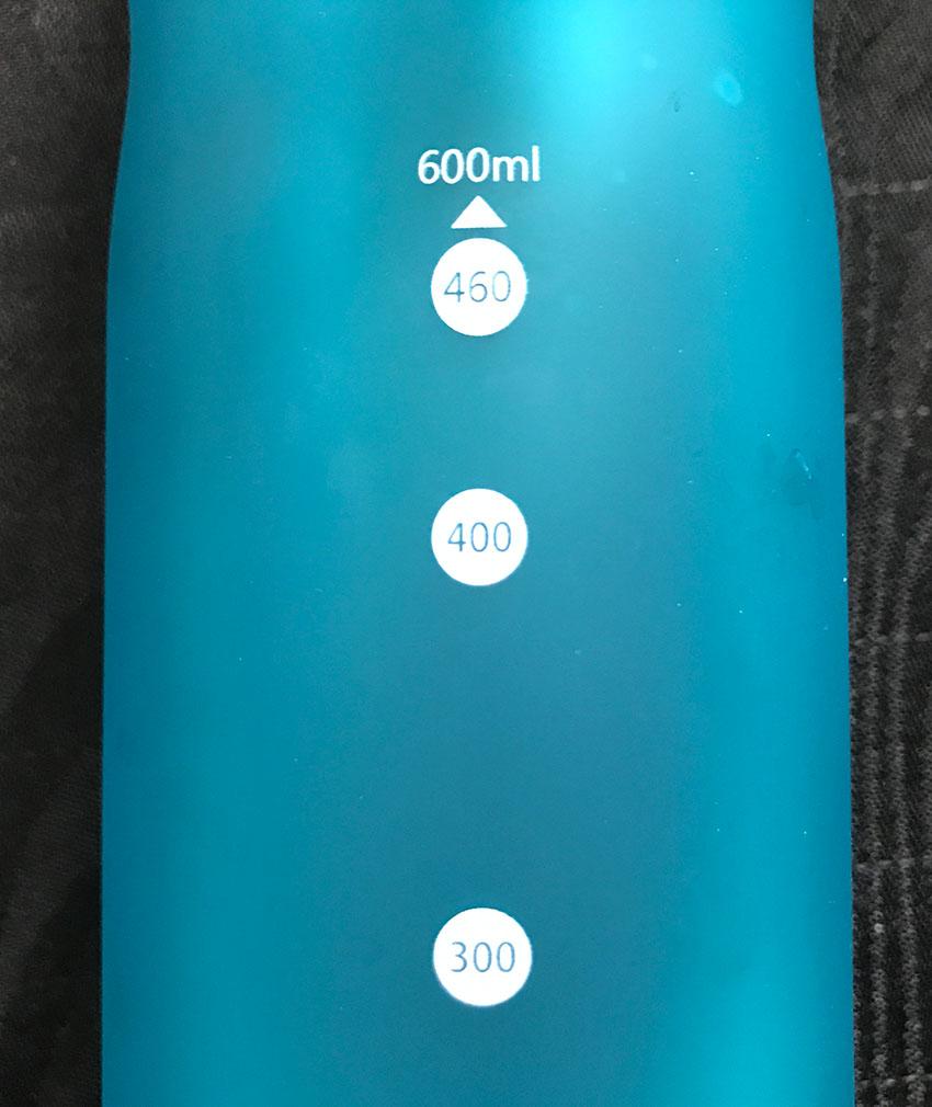Praktische Flasche für unterwegs