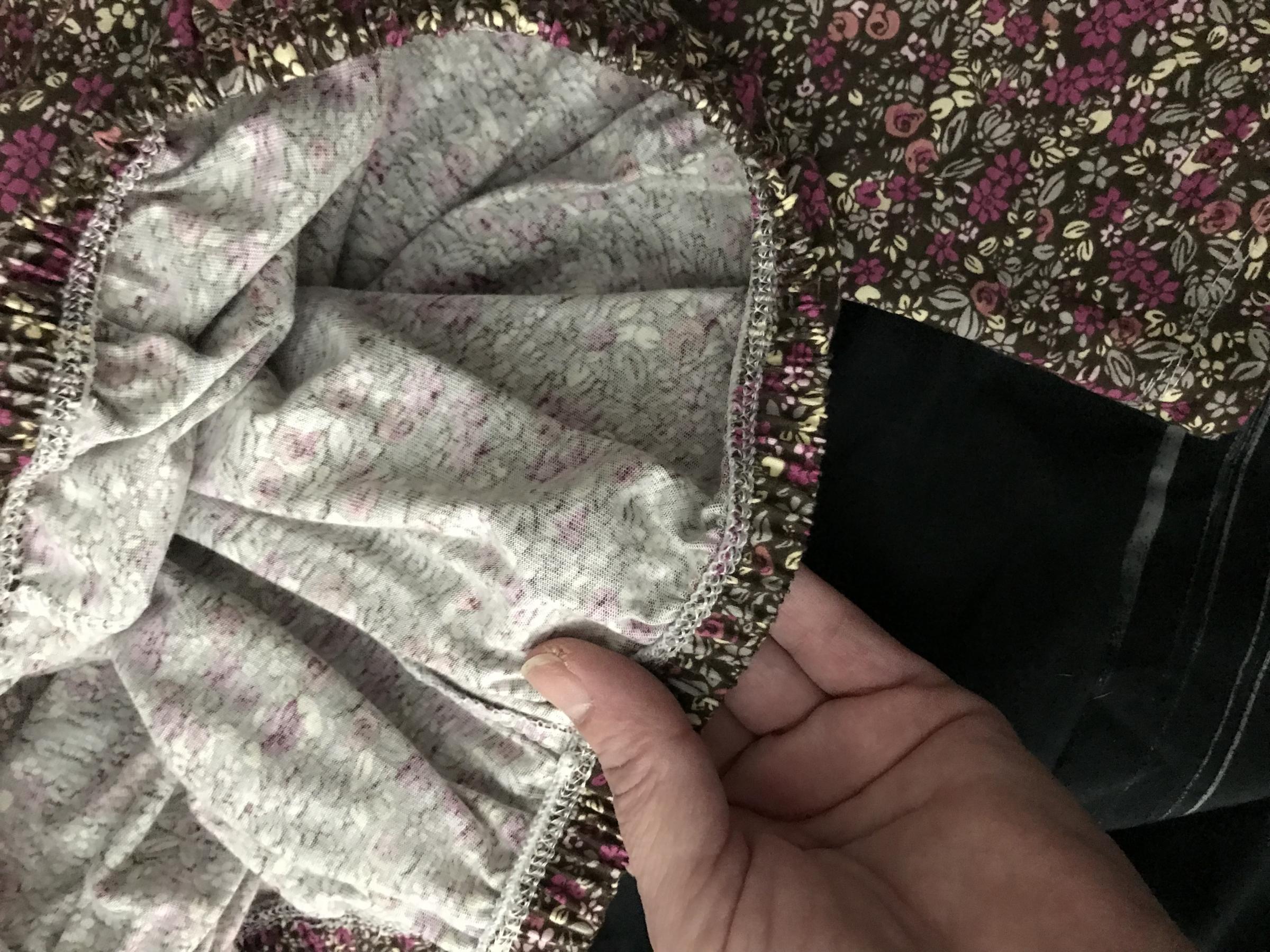 Comfortable woman's cotton pajama bottoms