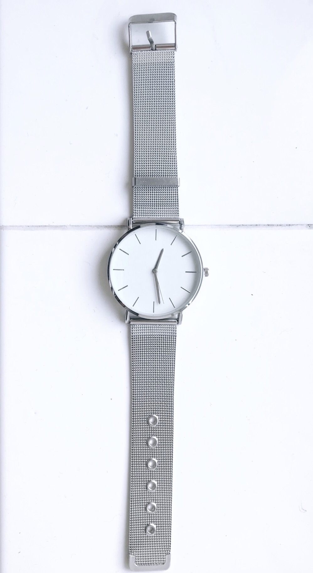 Women's large Abrray watch