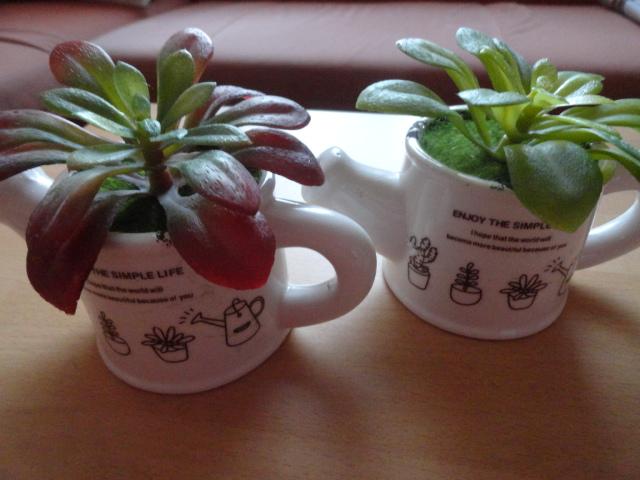 Sehr echt wirkende Kunstpflanzen